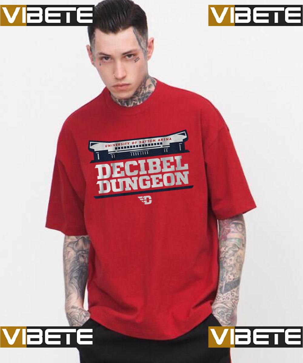 University Of Dayton Arena decibel dungeon t-shirt