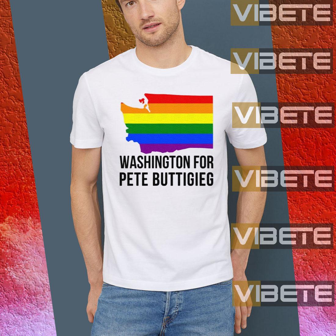 Washington for Pete Buttigieg LGBT Vote 2020 TShirts
