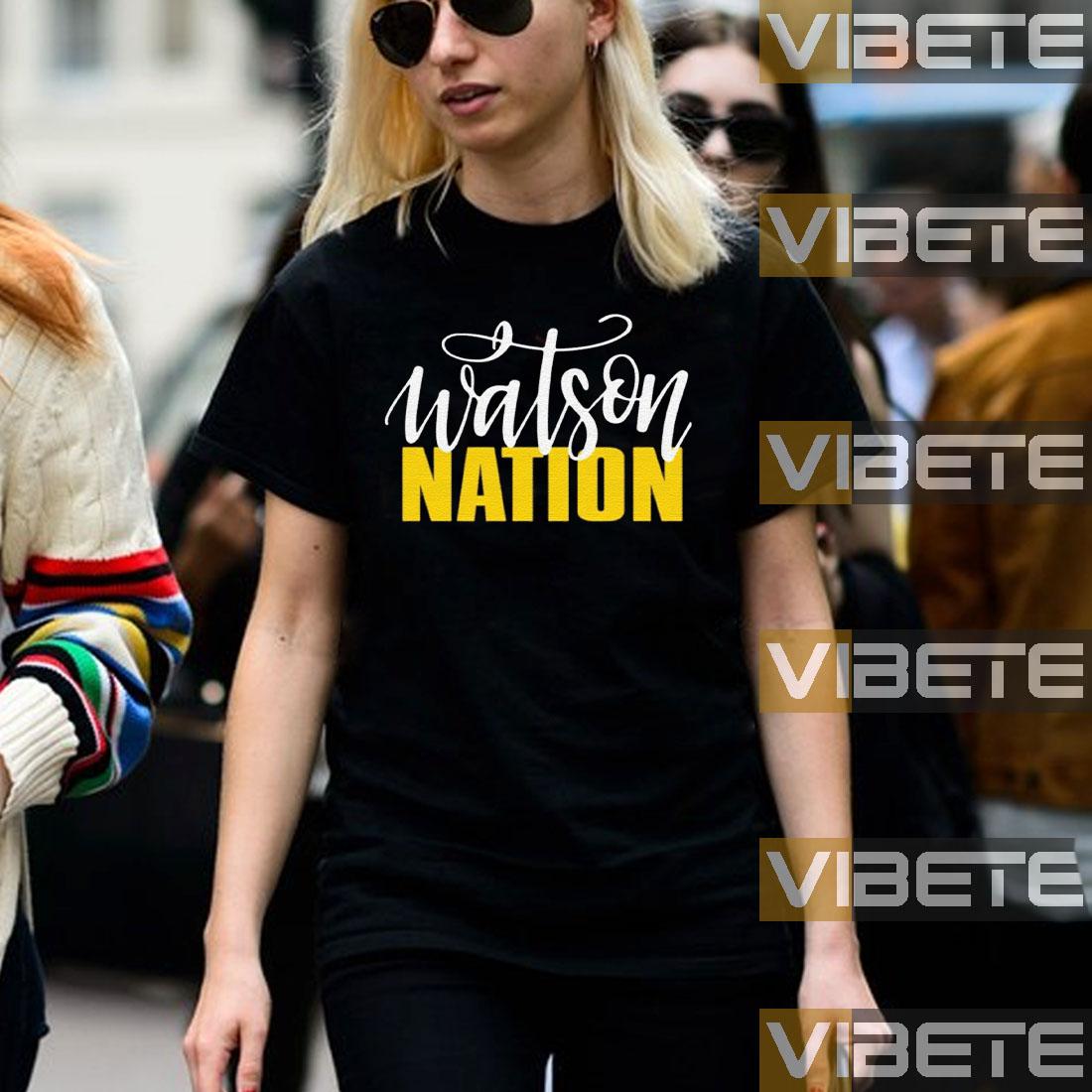 Womens Watson Nation shirt