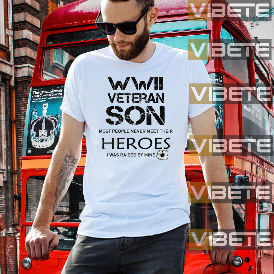 WWII Veteran Son Most People Never Meet Shirts