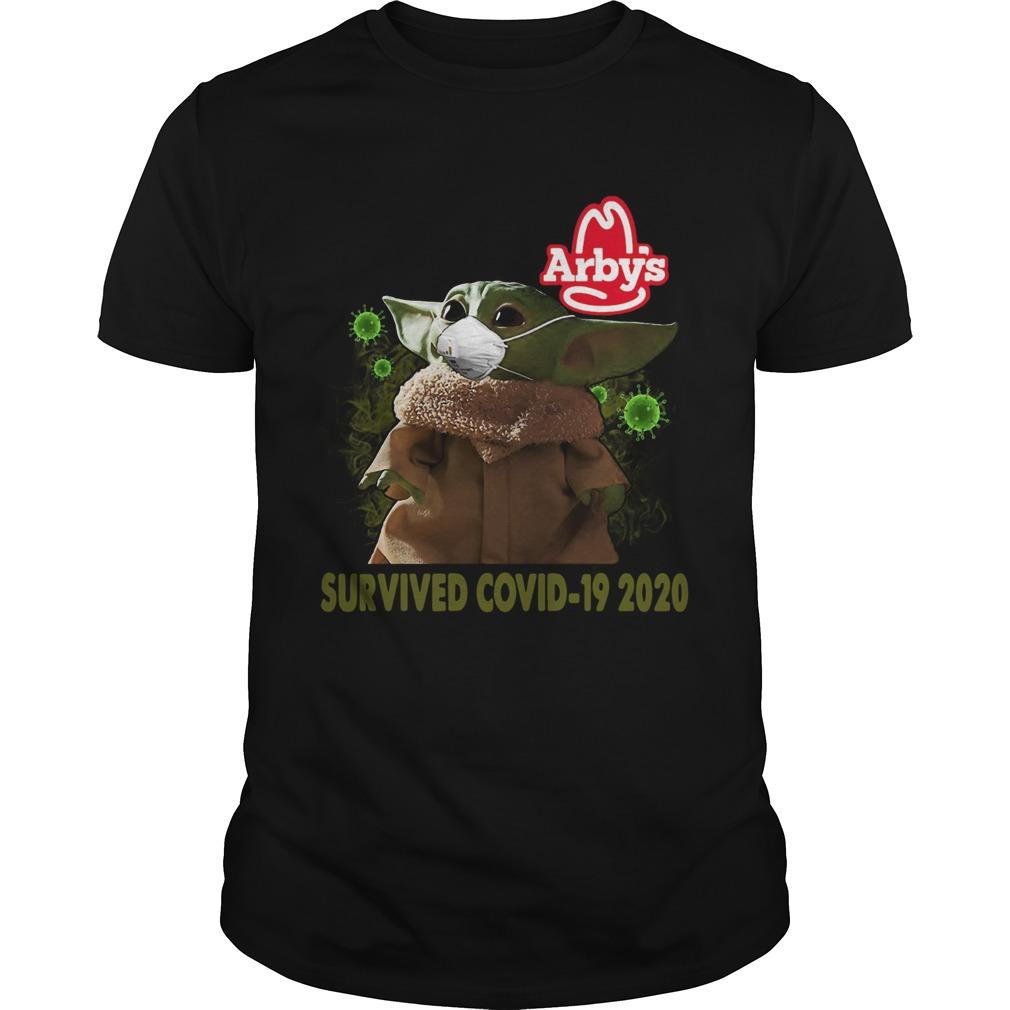 Baby Yoda Arbys Survived Covid 19 2020 Unisex