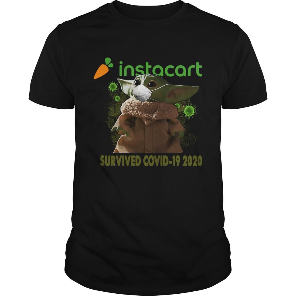 Baby Yoda Instacart Survived Covid 19 2020 Unisex