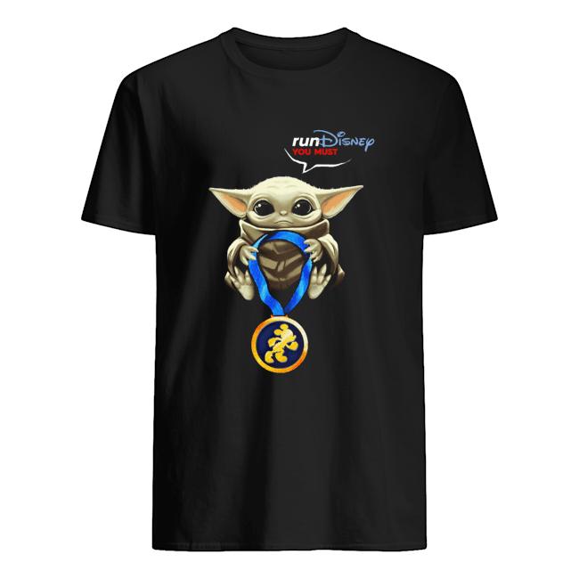 Baby Yoda Rundisney You Must Classic Men's T-shirt