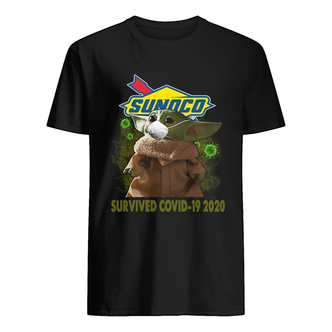 Baby Yoda Sunoco Survived Covid 19 2020 Classic Men's T-shirt