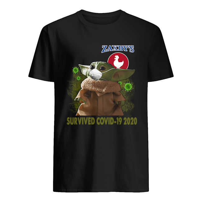 Baby Yoda Zaxby's Survived Covid 19 2020 Classic Men's T-shirt