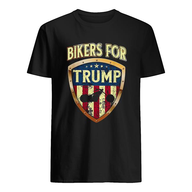 Bikers For Trump Motorcycle 2020 Classic Men's T-shirt