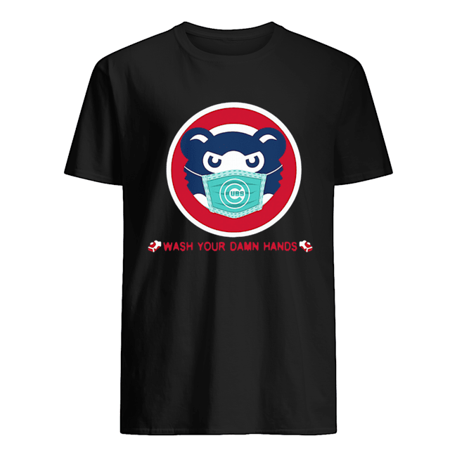 Chicago Cubs Wash Your Damn Hands Covid-19 Classic Men's T-shirt