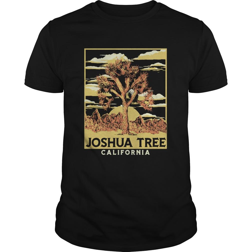 Joshua Tree National Park Vintage Style Langarm Unisex