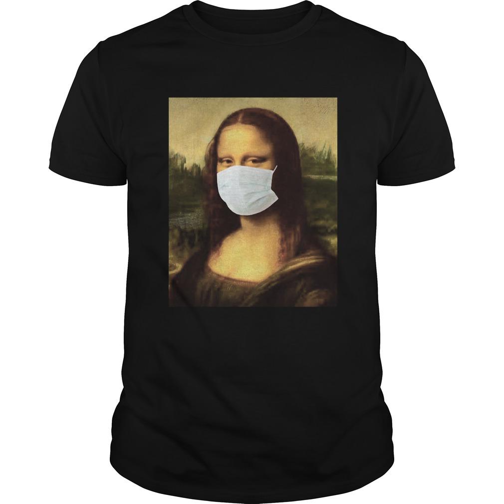 Mona Lisa Wear A Medical Mask Corona Unisex