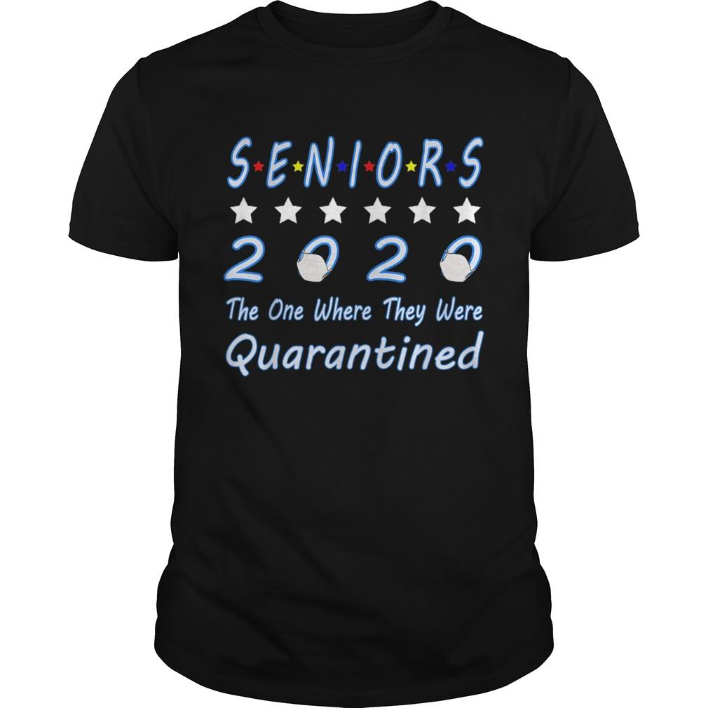 Senior Quarantine Class Of 2020 Graduation Unisex