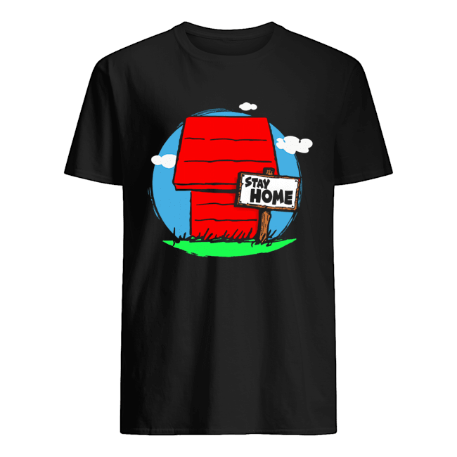 Stay Home Home of Snoopy Classic Men's T-shirt