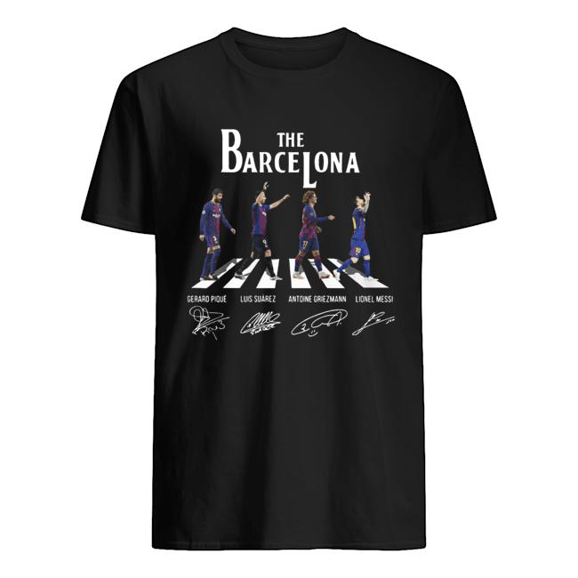 The barcelona crosswalk signatures Classic Men's T-shirt
