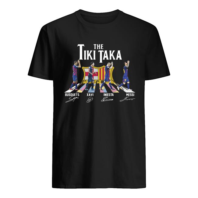 The tiki taka crosswalk signatures Classic Men's T-shirt