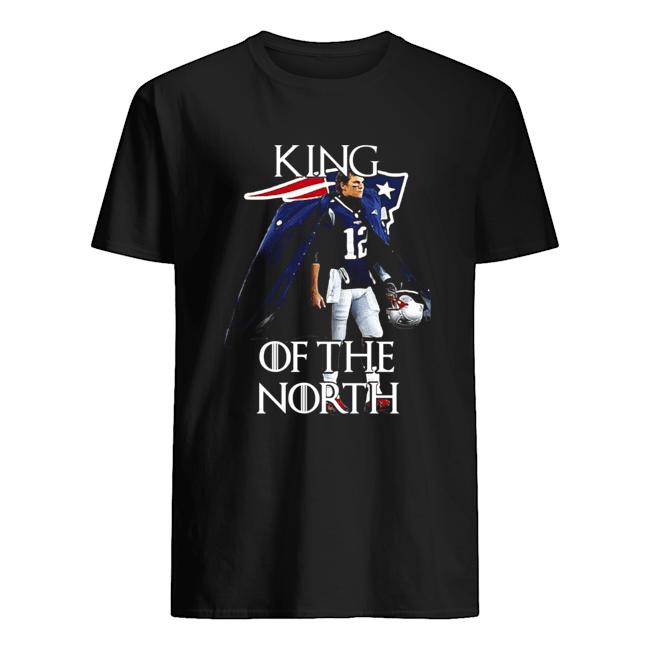 Tom Brady New England Patriots 12 King Of The North GOT Classic Men's T-shirt