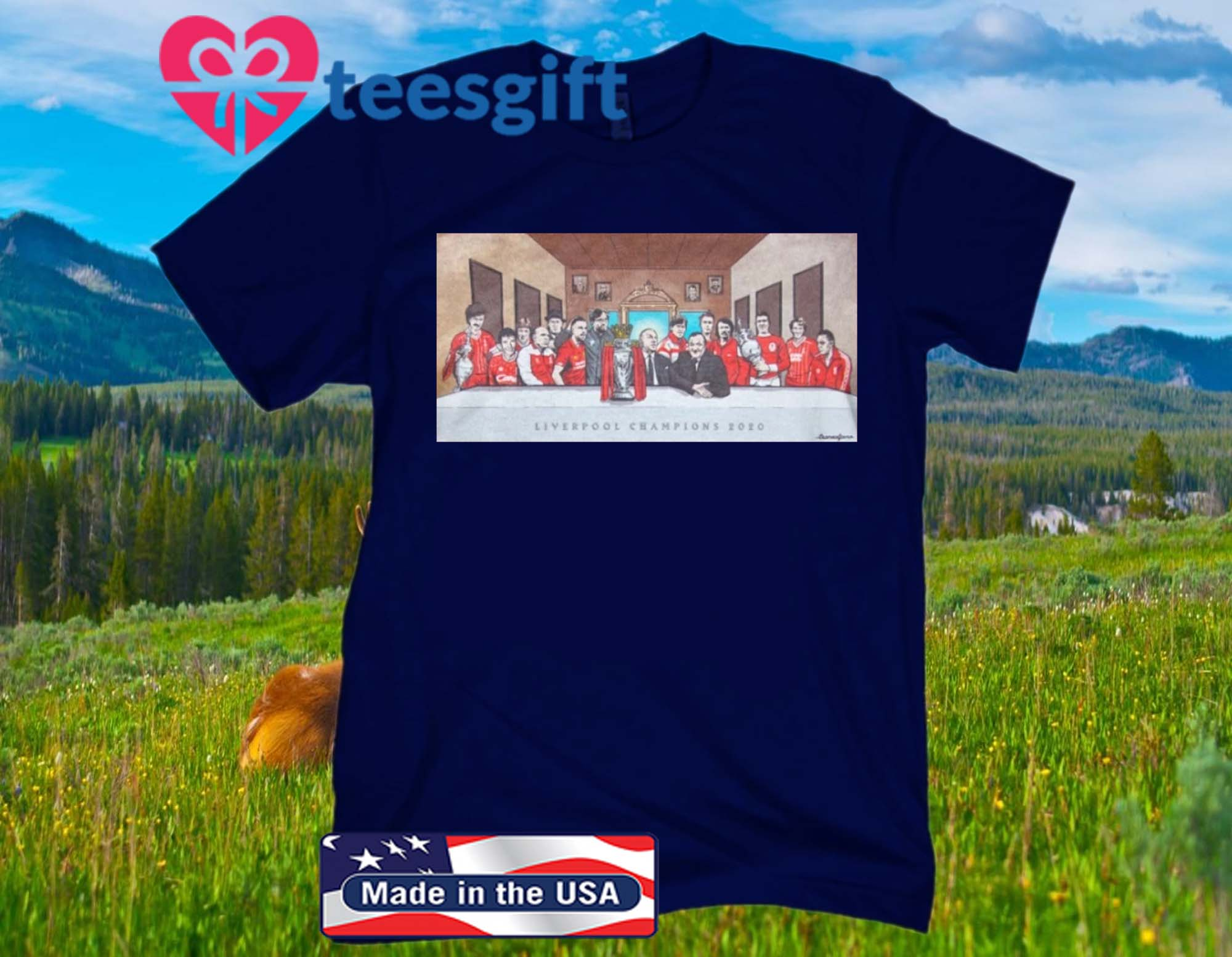 Liverpool Last Supper Poster Shirt