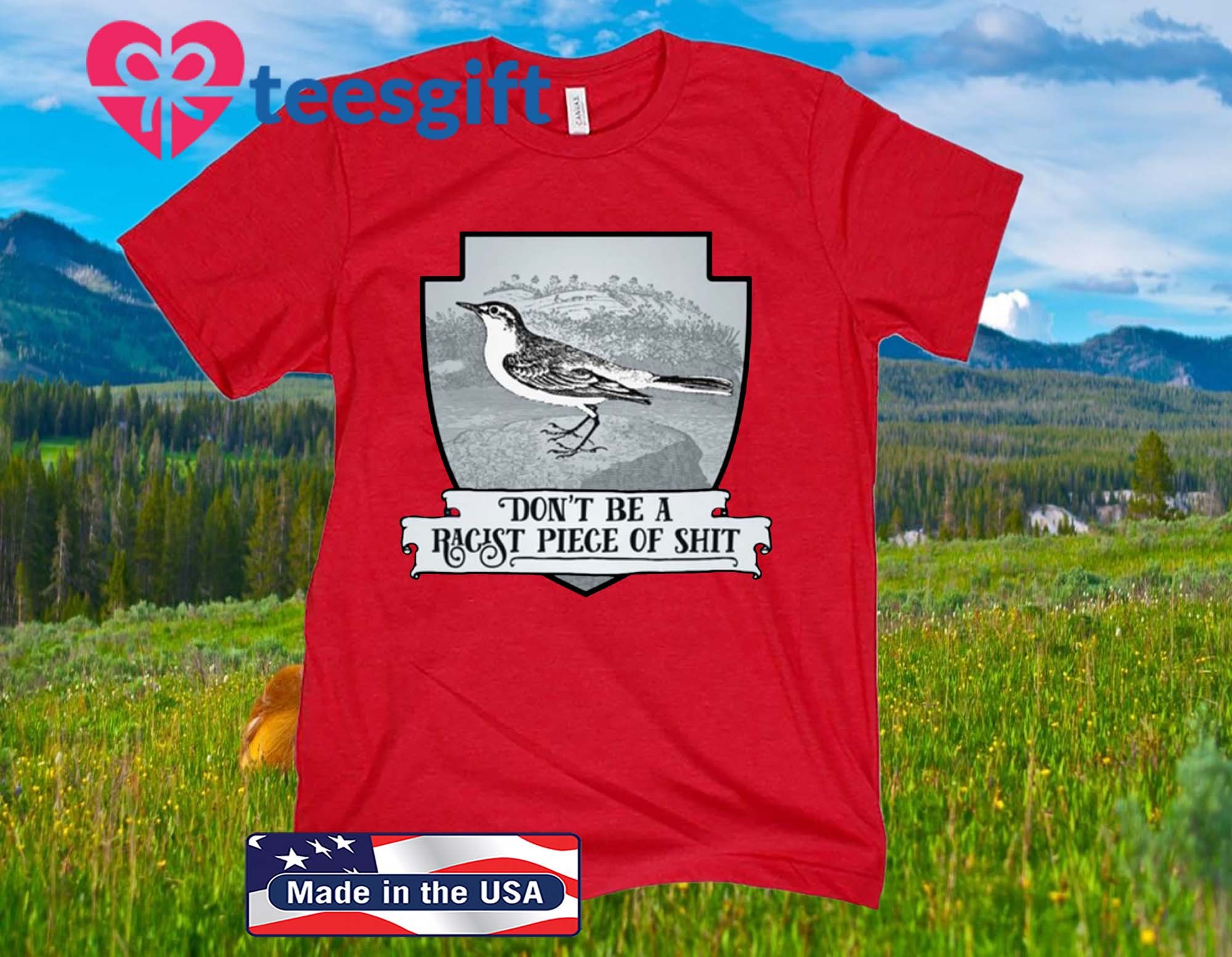 Effin' Birds, Don't Be a Racist Piece Of 2020 Shirt