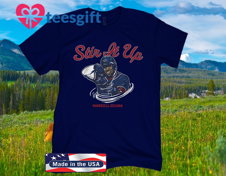 Marcell Ozuna Stir It Up 2020 Shirt Atlanta - MLBPA Licensed