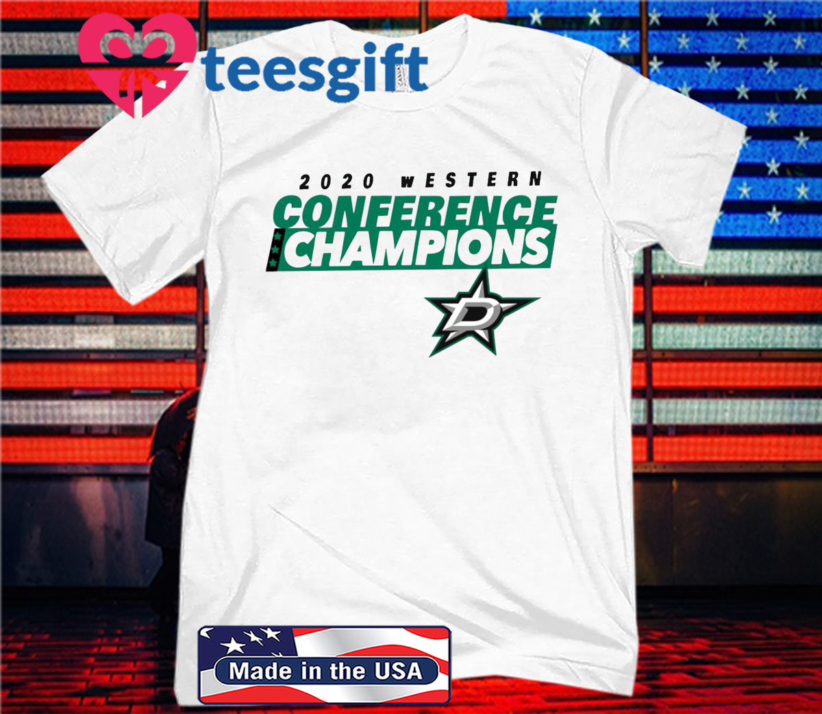 2020 Conference Champions Logo Dallas T-Shirt