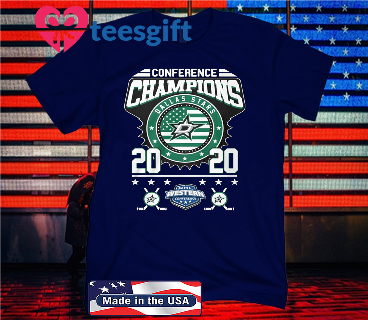 Conference Champions Logo Western 2020 T-Shirt