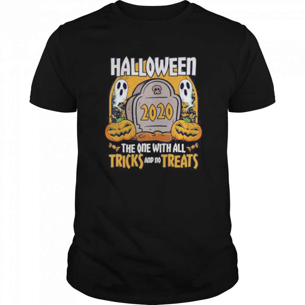 Halloween 2020 The One With All Tricks And No Treats Classic Men's T-shirt