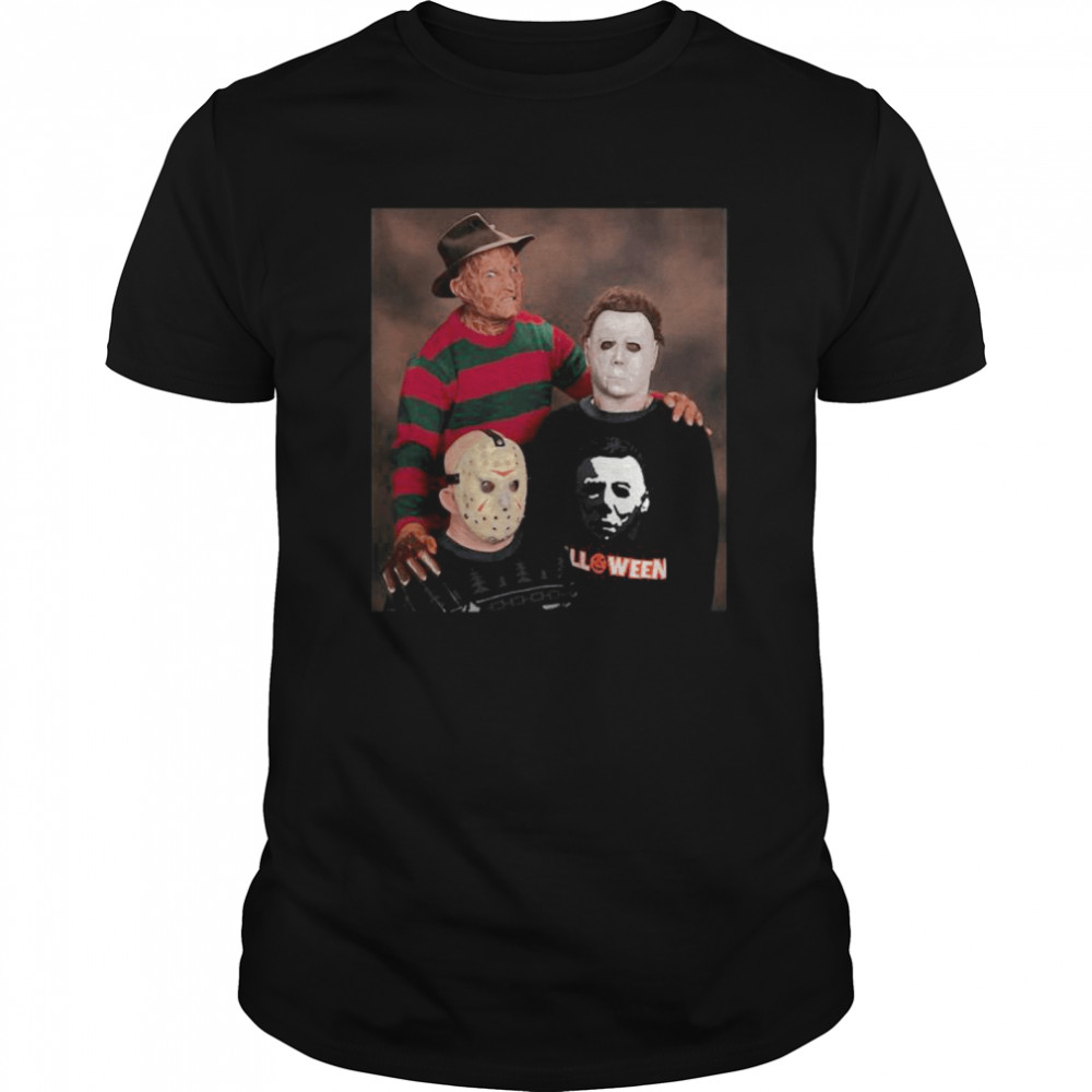 Halloween krueger jason voorhees michael myers Classic Men's T-shirt