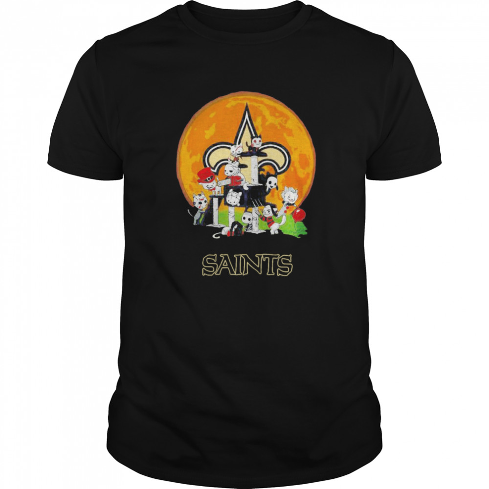 Halloween Nights Horror Characters Chibi Saints Classic Men's T-shirt