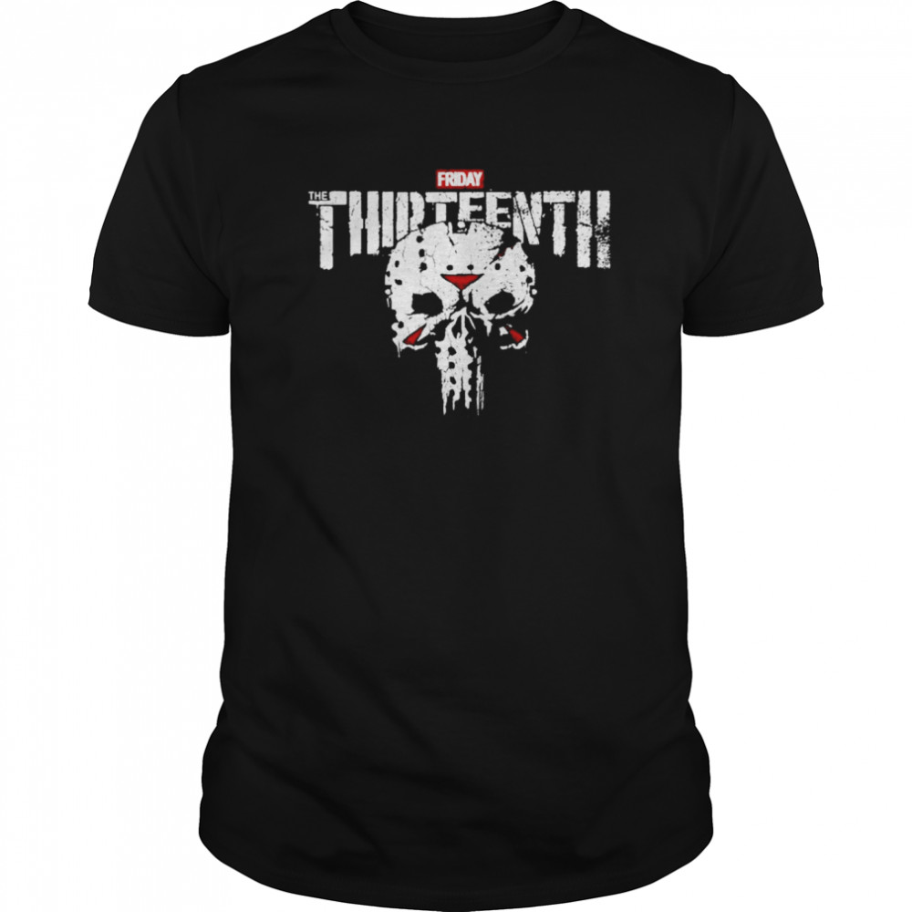 Jason Skull Friday the Thirteenth Classic Men's T-shirt