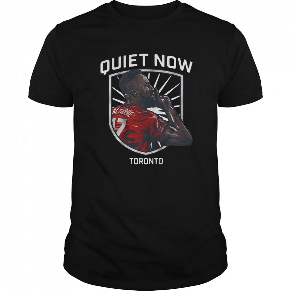 Jozy Altidore Quiet Now Toronto 2020 Classic Men's T-shirt