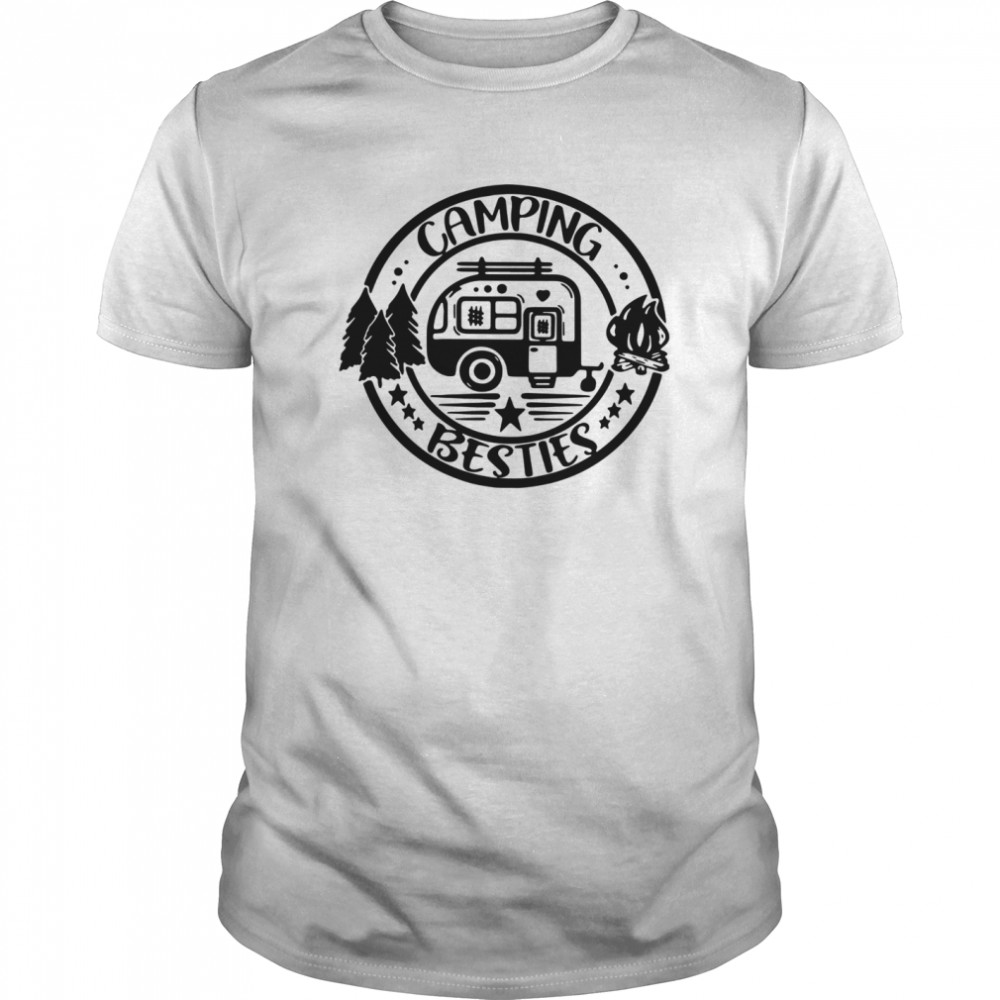 Outdoor Gifts For Campers Camping Besties Classic Men's T-shirt