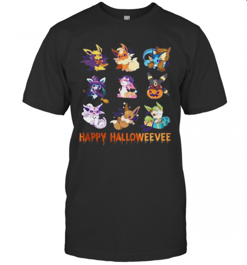 Pokemon Pikachu Happy Halloweevee Halloween T-Shirt Classic Men's T-shirt