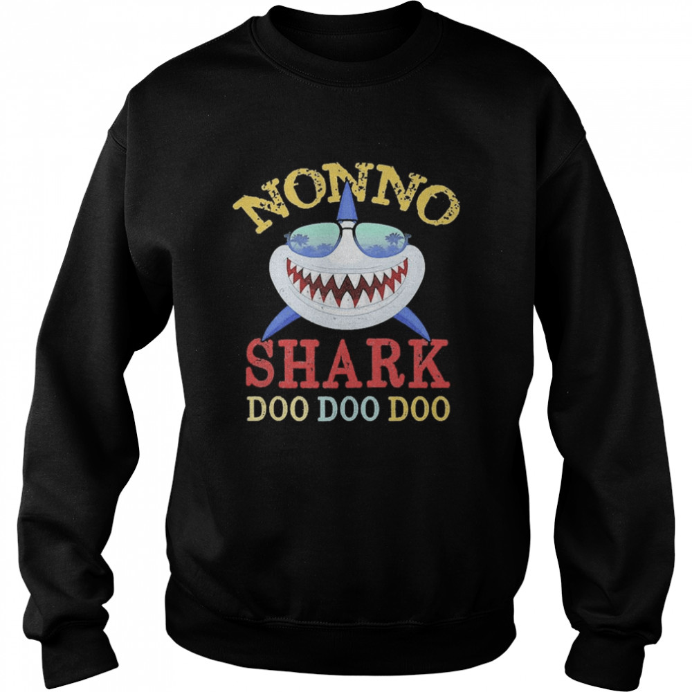 Family 365 Nonno Shark Father's Day  Unisex Sweatshirt