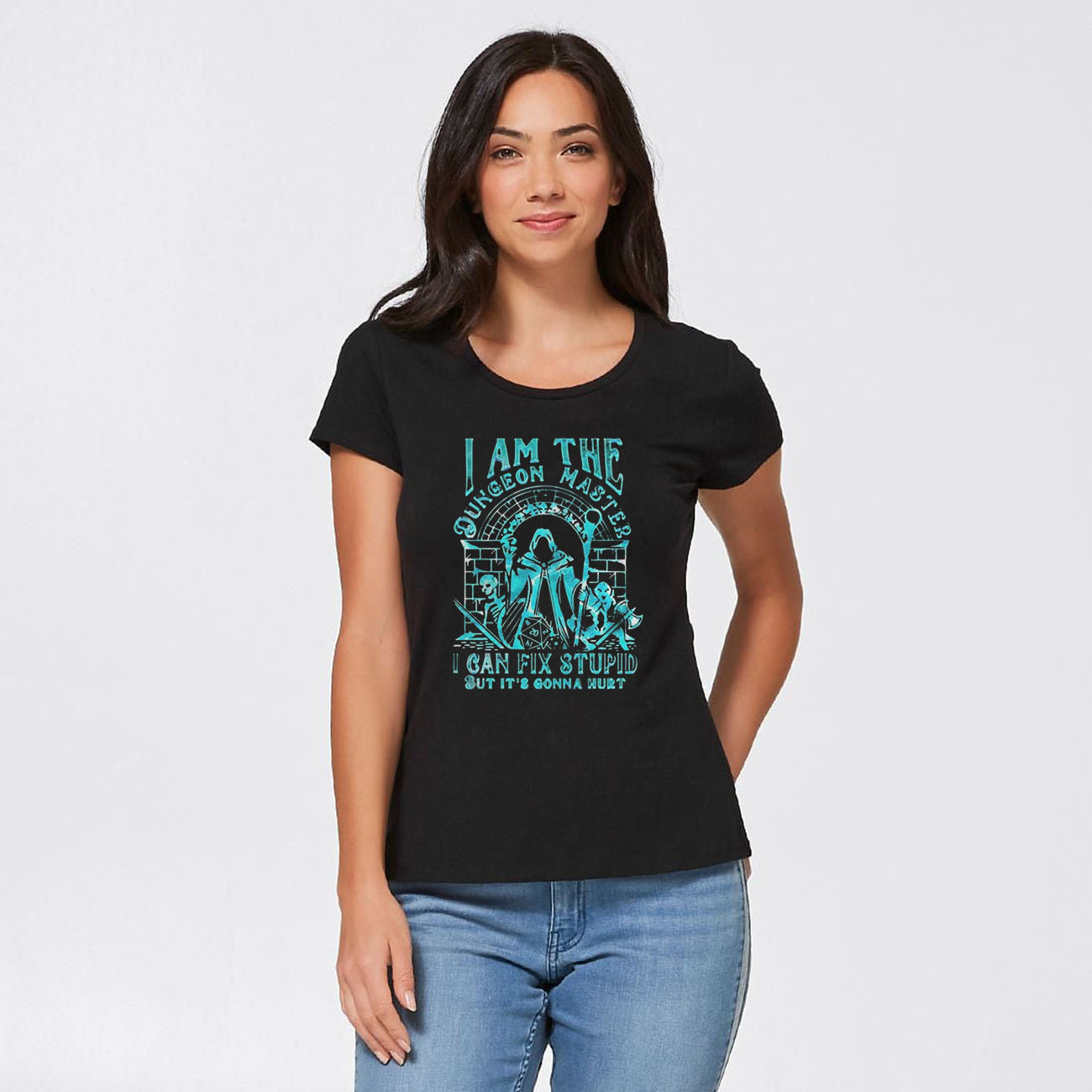 I Am The Dungeon Master I Can Fix Stupid But Its Gonna Hurt Gift T-Shirts