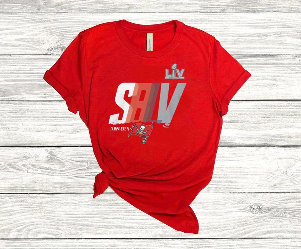 Tampa Bay Buccaneers Super Bowl LV Bound Lockup Logo Gift T-Shirt