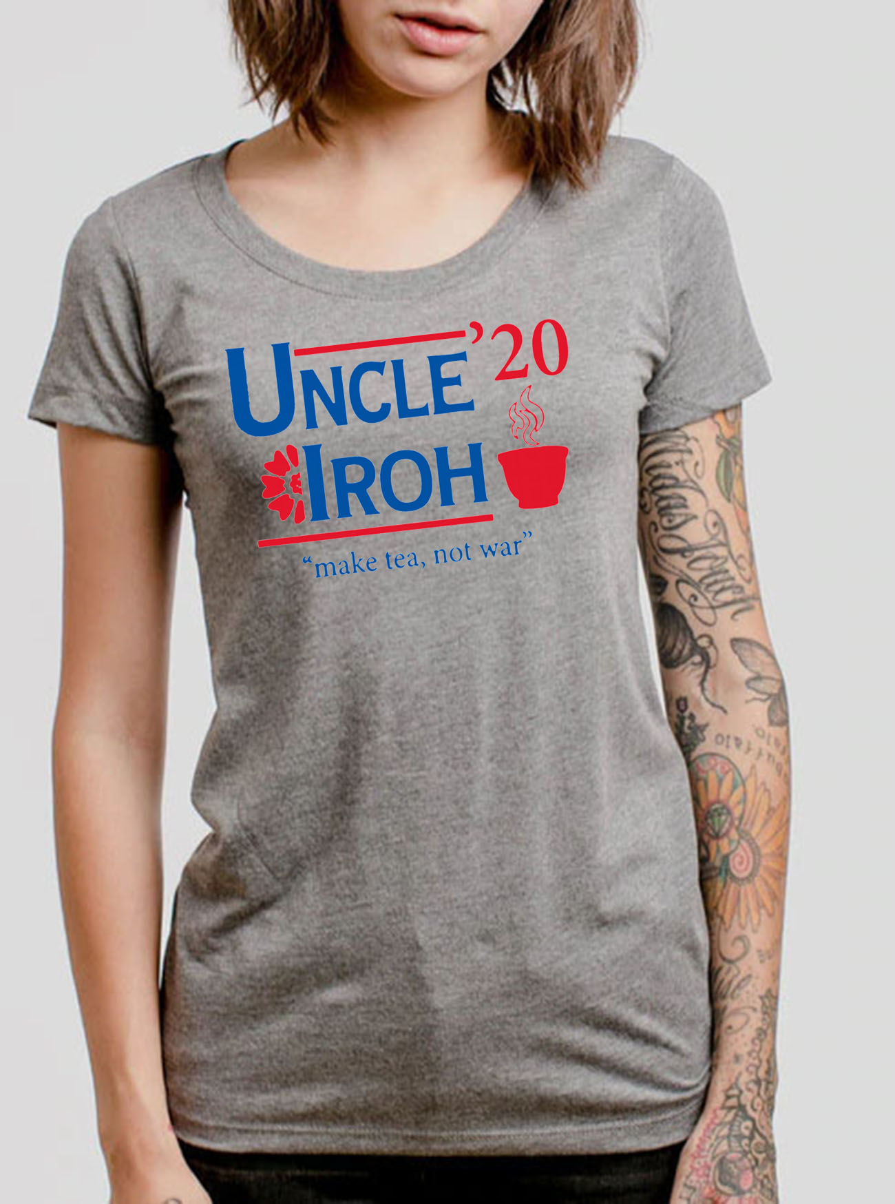Uncle'20 Iroh Make Tea Not War Gift T-Shirt